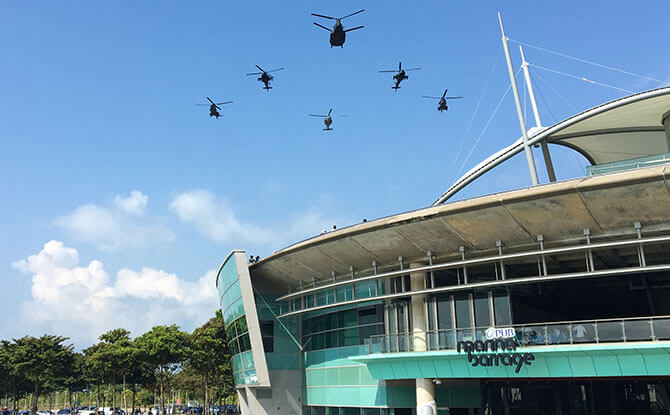 RSAF Aircraft in Action
