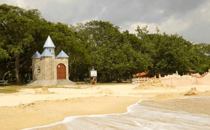 Castle Beach at East Coast Park