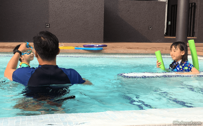 Lesson for two with a private coach at a condominium