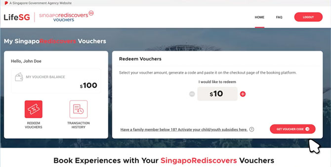 How To Make Use Of Your SingapoRediscovers Vouchers