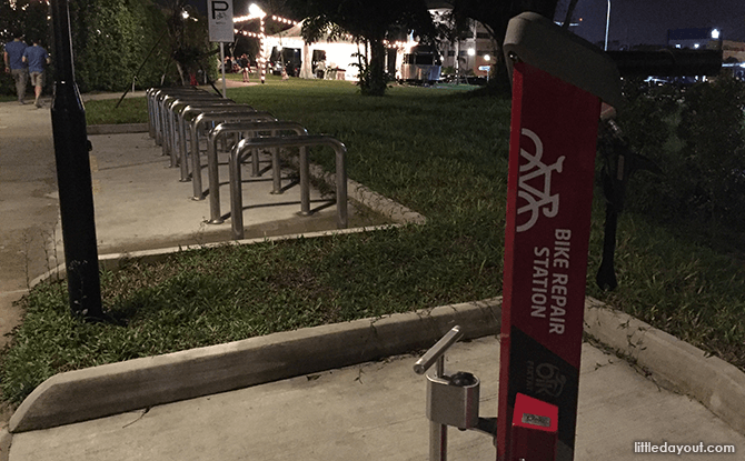 Bike Repair Station at The Oval