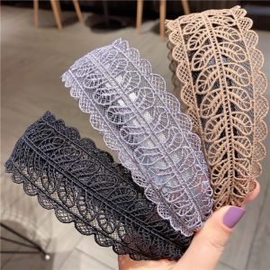 e20 Lace cloth hairband