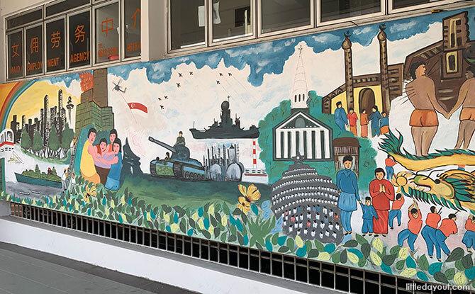 Keong Saik Road Murals