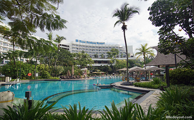 Shangri-La's Rasa Sentosa Resort & Spa Day Passes: A Daycation By The Pool