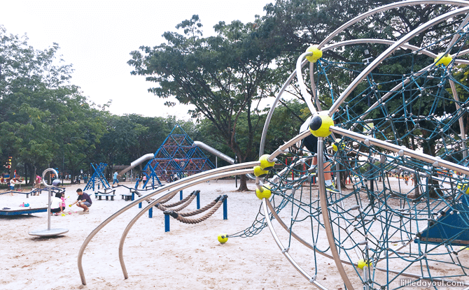 Netted Climbing Sphere at West Coast Park Playground, Singapore