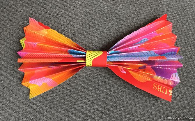 Bow tie ang pow craft