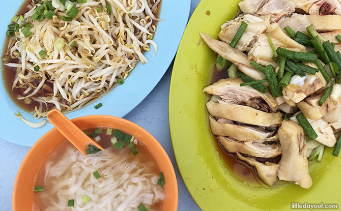 Our first foodie stop in Ipoh: Lou Wong, for Ipoh's famous beansprout chicken.
