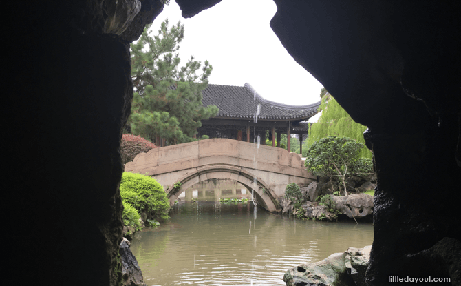 Chinese Garden Cave