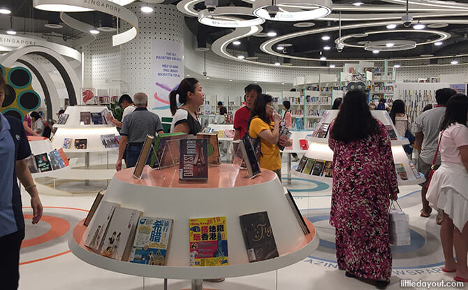 Bukit Panjang Public Library Adults' & Teens' Zone