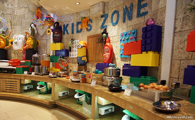 Kids Zone at Silver Shell Café