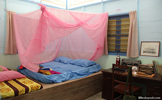 Pulau Ubin Chinese Kampong House: Bedroom