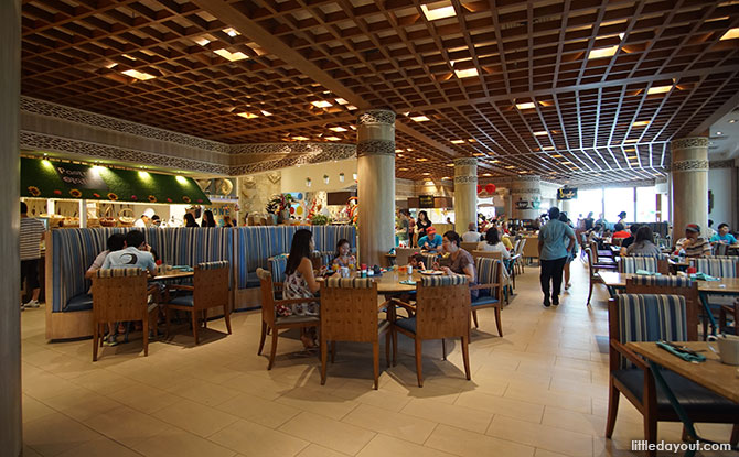 Silver Shell Café, Rasa Sentosa Resort
