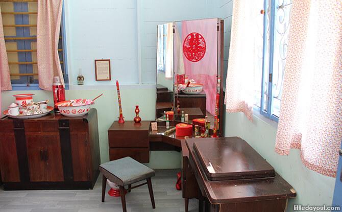 Pulau Ubin Chinese Kampong House: Newlyweds' Room