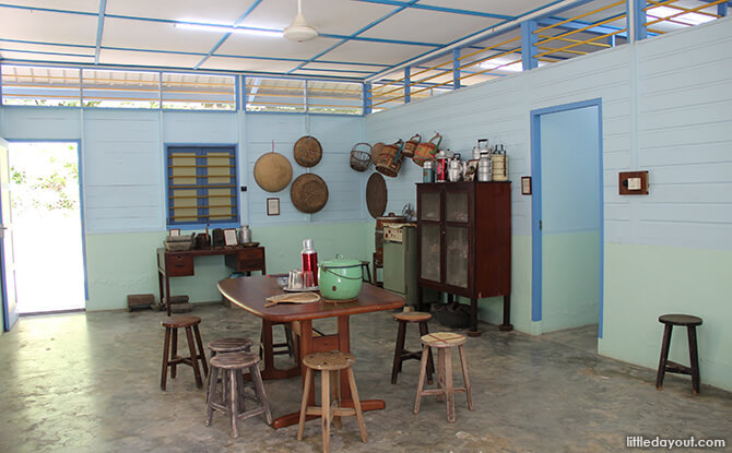 Pulau Ubin Chinese Kampong House: Kitchen
