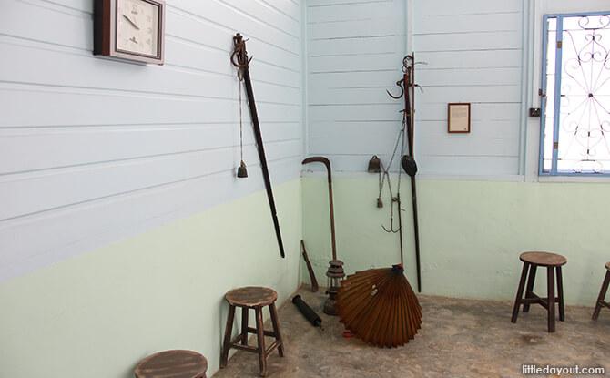 Pulau Ubin Chinese Kampong House: Weighing Scales