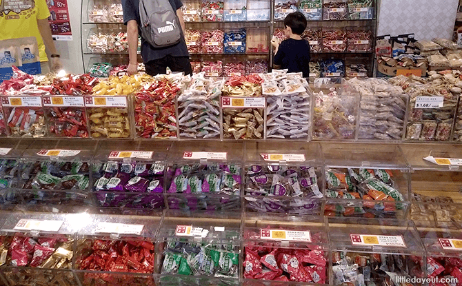 Candies and Sweets at Yue Hwa