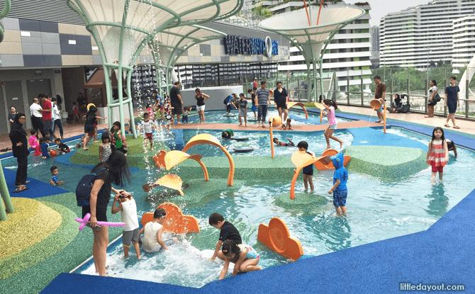 Waterway Point playground mini river
