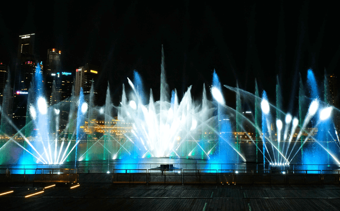 Spectra Marina Bay Sands Light Show