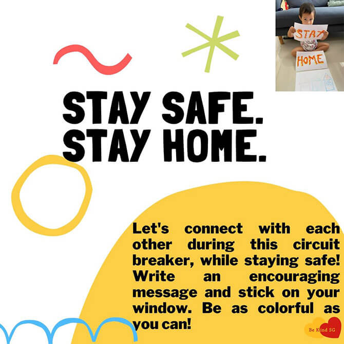 Stay Safe, Stay Home and Encourage Each Other