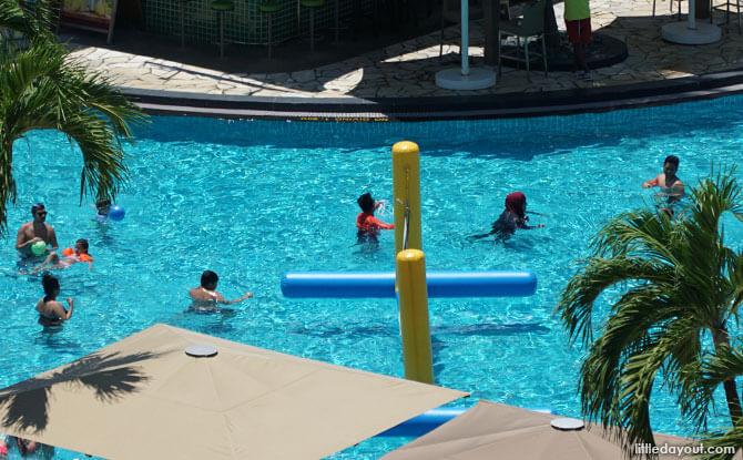 Activities at Rasa Sentosa pool