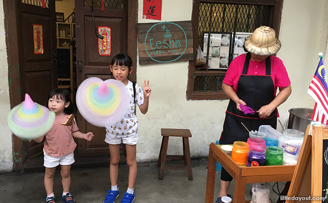 Cotton Candy, Ipoh with Kids