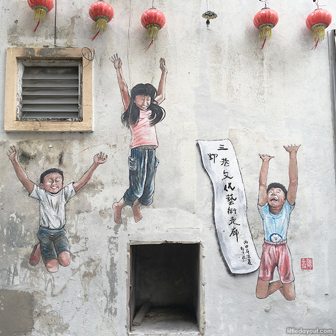 Wall Murals in Ipoh