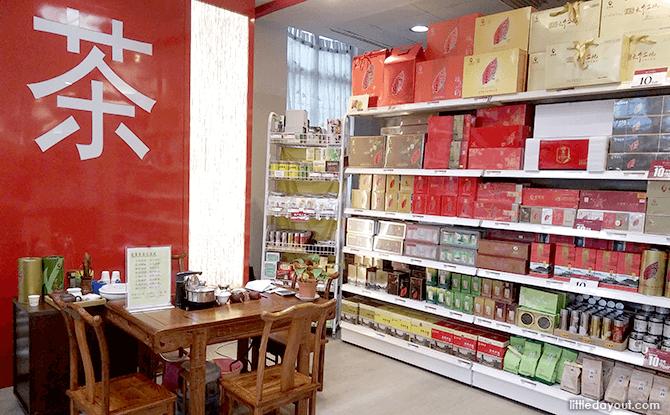 Tea at Yue Hwa Chinese Emporium