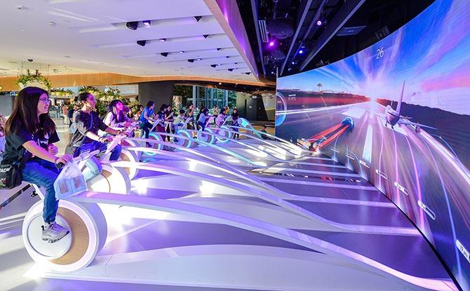 Admission to Changi Experience Studio