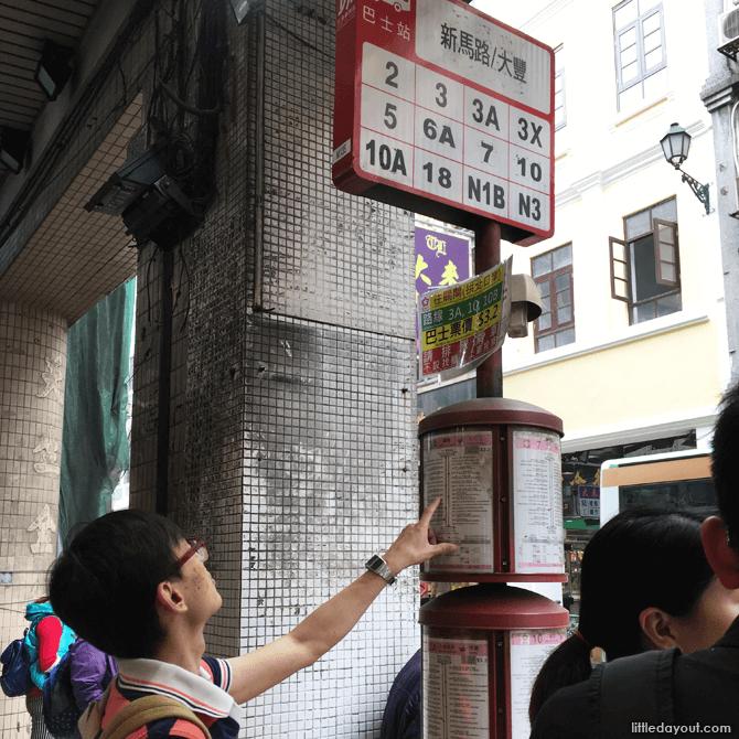 Bus around Macau