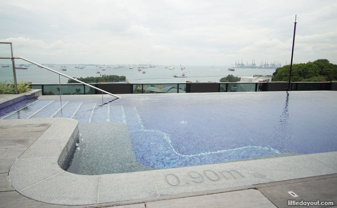 The Outpost Hotel at Sentosa's Infinity Pool