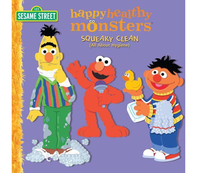 Sesame Street's Happy Healthy Monsters – Squeaky Clean (All About Hygiene)
