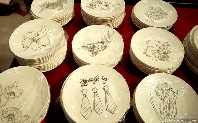 Ceramic Plates at Yue Hwa
