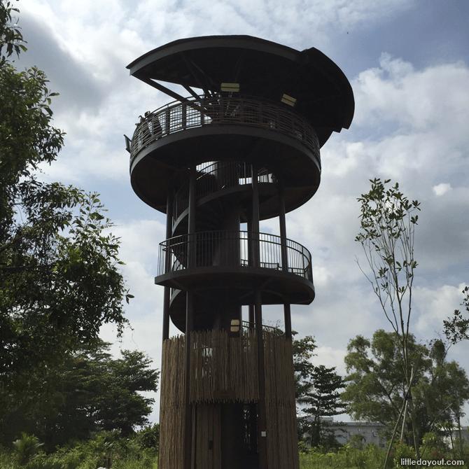 Raptor Tower, Kranji Marshes