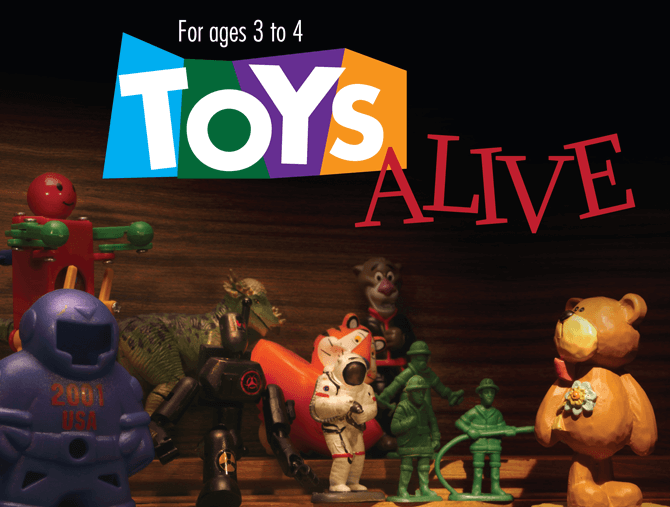 Toys Alive, ACT 3 Drama Academy holiday workshop