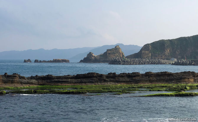 View at Geopark Taiwan
