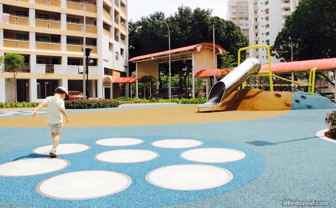 Yishun Green interactive playground slide