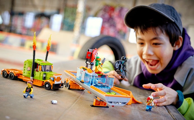 LEGO City Stuntz: Launch Into Fast-Action Play