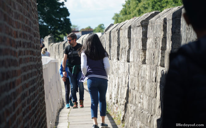 Walk along York's Walls.