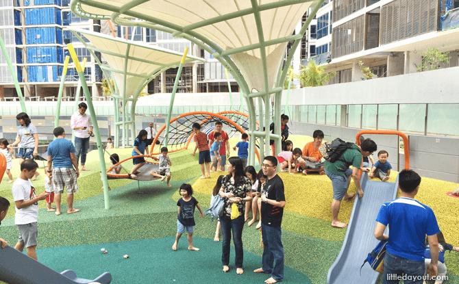 Waterway Point playground dry zone
