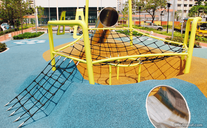 Yishun Green interactive playground net