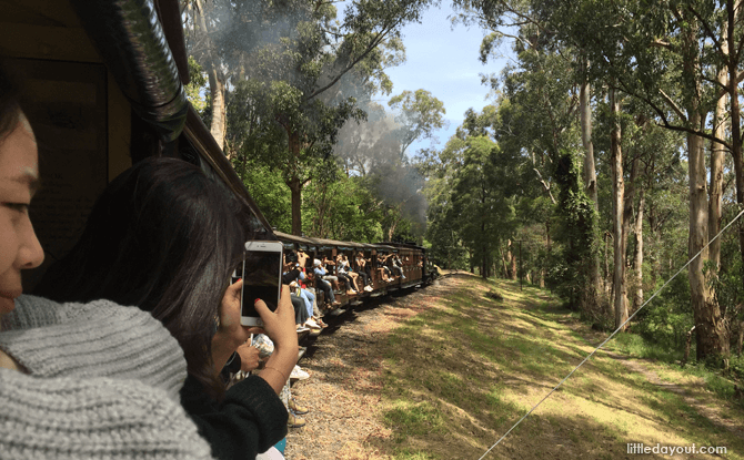 Melbourne Puffing Billy train