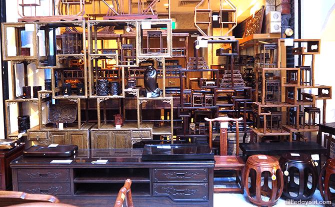 Furniture at Yue Hwa