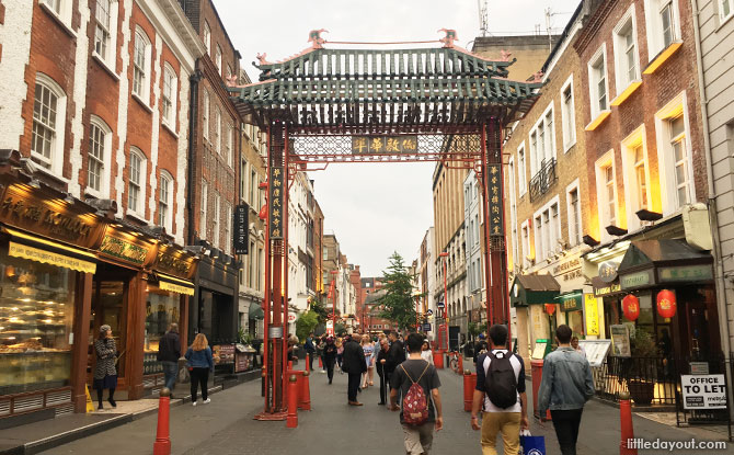 Chinatown, London with Kids