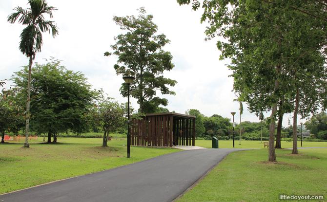 Sengkang Riverside Park shelter