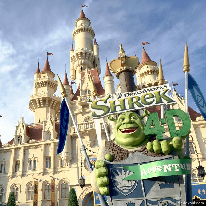 Universal Studios Shrek 4D Adventure