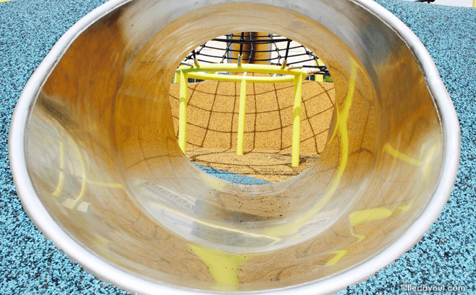 Yishun Green interactive playground tunnel
