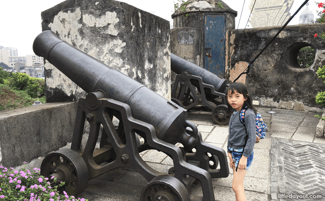 Mount Fortress, Macau with Kids