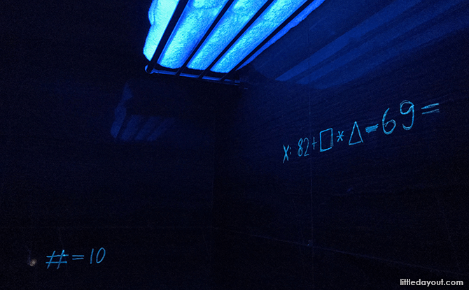 Using UV light to look for clues