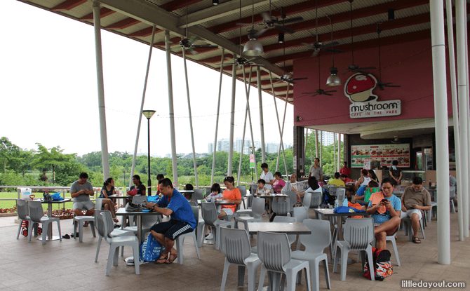 Sengkang Riverside Park Mushroom Cafe