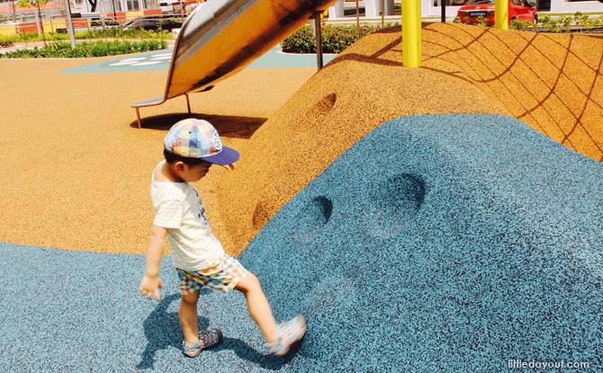 Yishun Green interactive playground steps